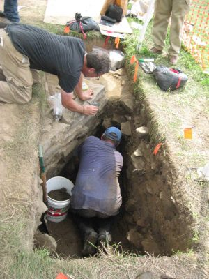 Excavating the Middle Cellar
